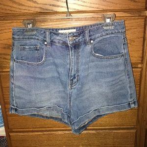 Pacsun Mom jean denim shorts